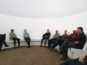 Inside James Turrell's Sky Space