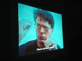 Signer's Koffer, a film about Roman Signer, as part of Simon Starling's workshop