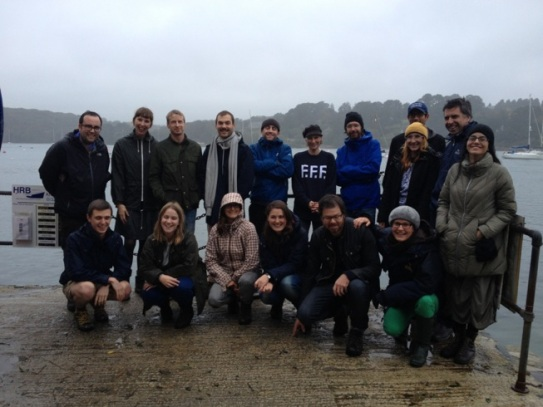 The Cornwall Workshop group in Helford