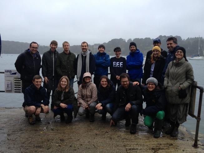 The Cornwall Workshop group in Helford